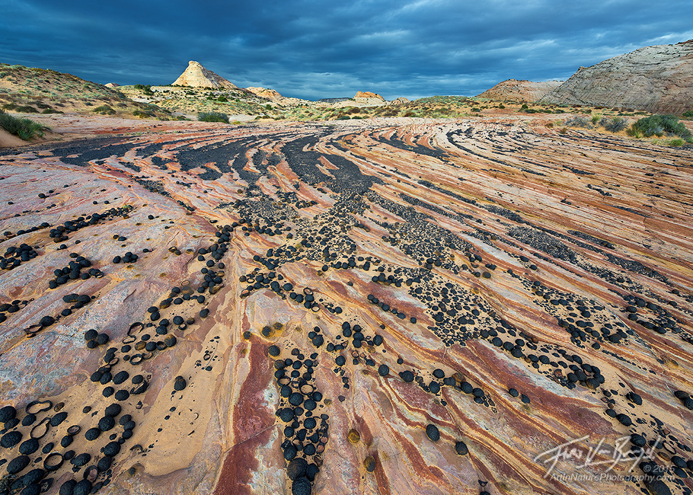Moqui Marbles, Escalante, Utah, photo