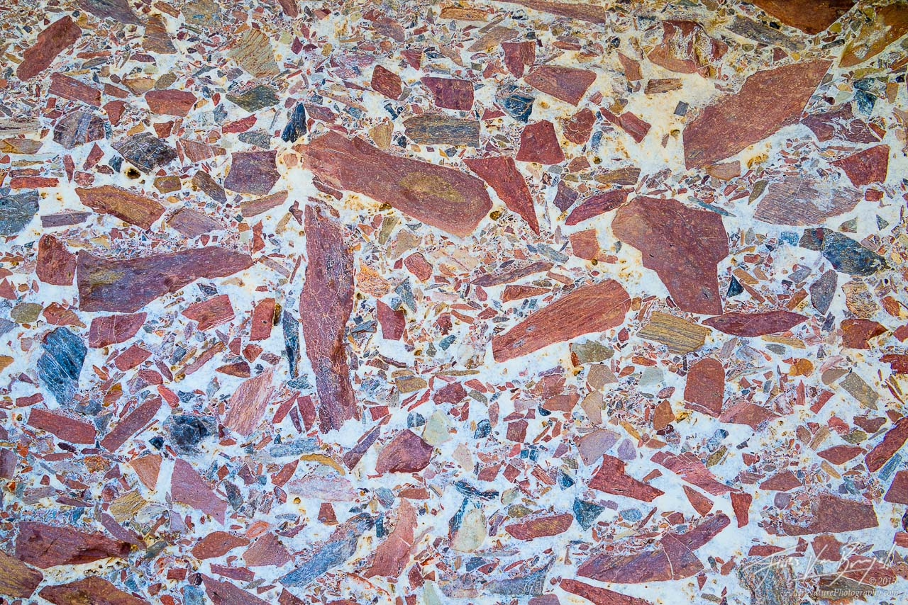 Breccia Mosaic, Canyon, Death Valley National Park, photo