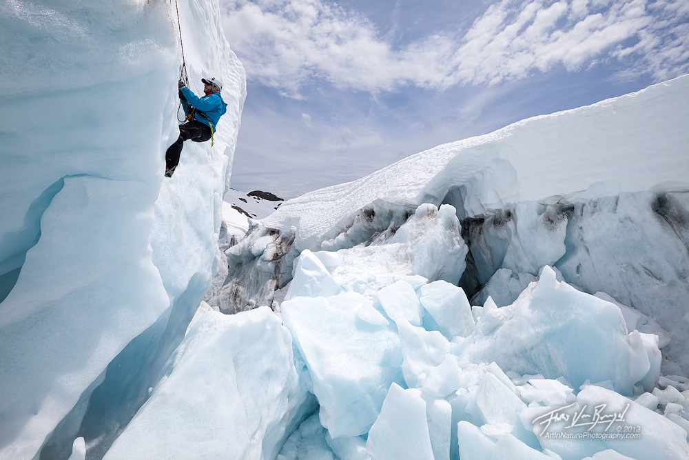 Crevasse Rescue, Easton Glacier, Mt Baker, photo
