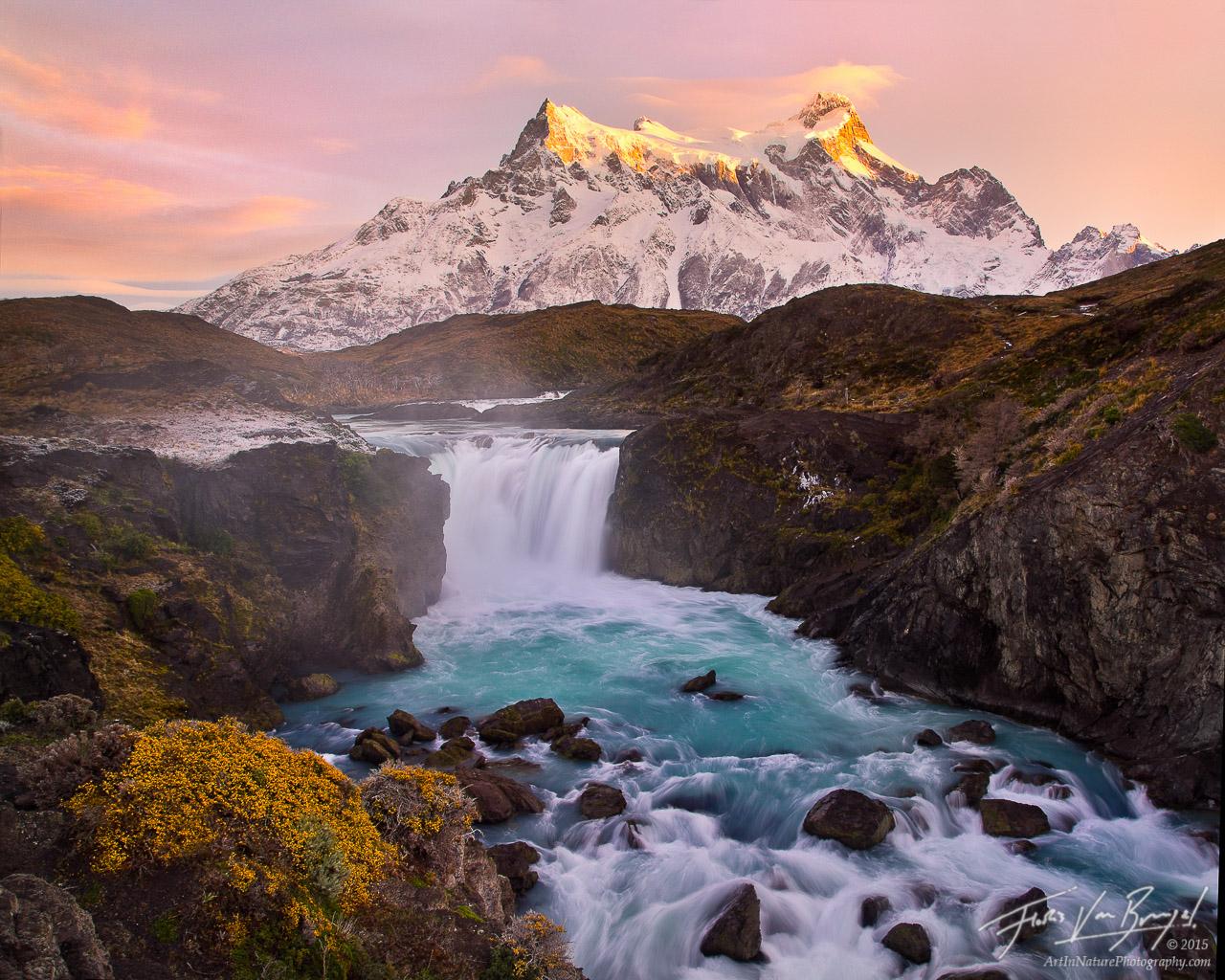 Salto Grande, Torres del Paine, Patagonia, photo