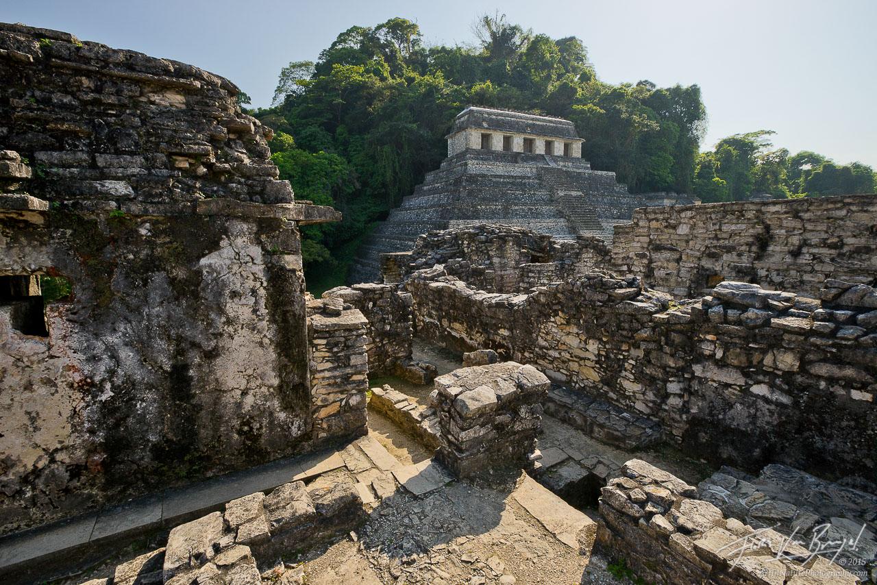 Palenque, Maya Ruins, Chiapas, photo