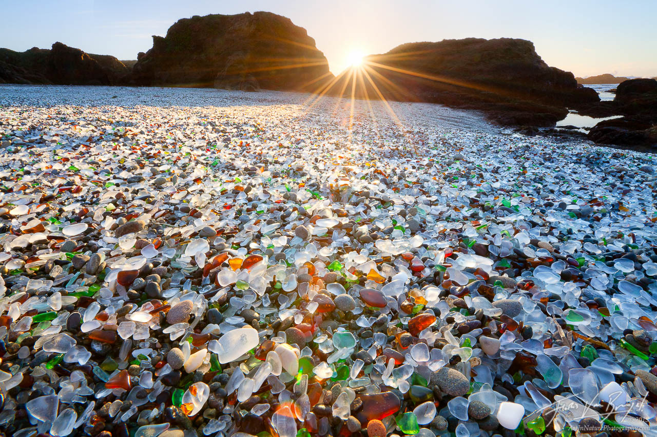 Glass Beach, Fort Bragg, California, photo