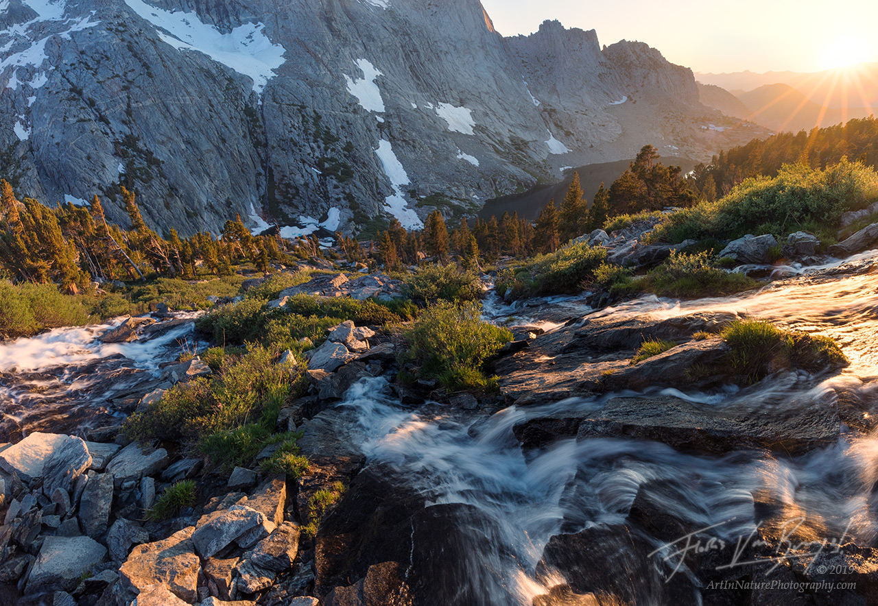 Sierra, Waterfalls, Wilderness