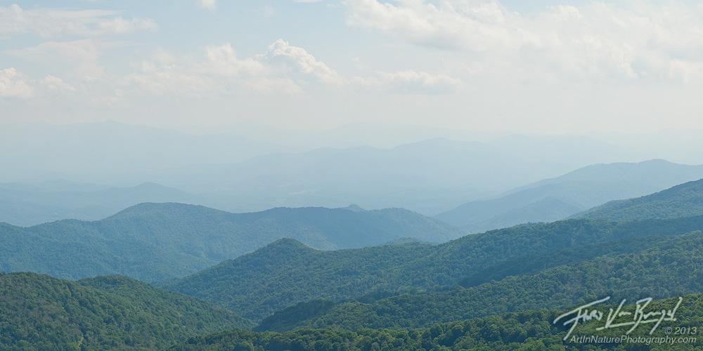 Smoky Mountains Vista, Pisgah National Forest, North Carolina, photo