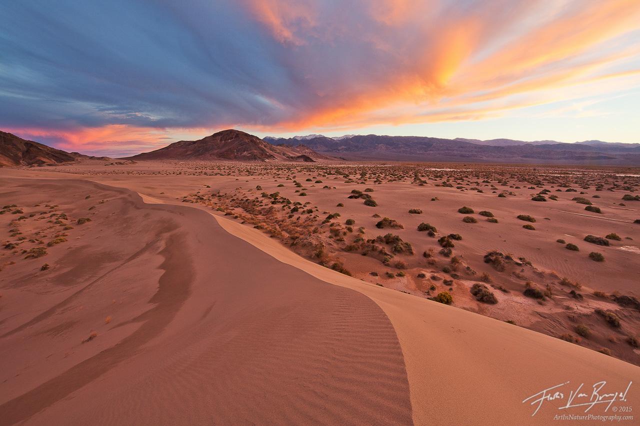 Sunset Dunes, Death Valley National Park, California, photo